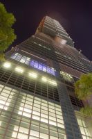Taipei 101 Bottom to Top by AneiKhaar