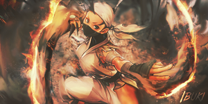 Ibuki Signature w/ PSD by Crazed-Artist