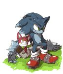 chip and werehog by Yukisisren
