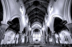 Holy Archways HDR by DirtyLittleDevil