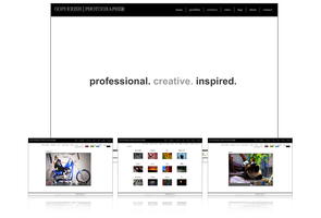 Personal Photography Site by AreoX