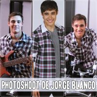 Photoshoot de Jorge Blanco by naty02