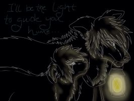 lights will guide you home. by AgentAnarchy