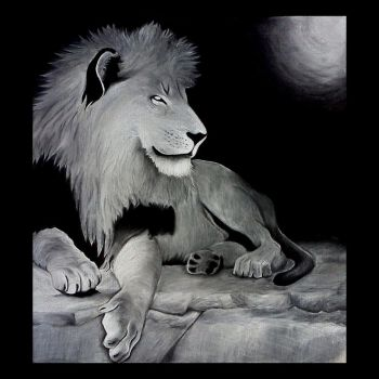 Charcoal Lion by Apocolypse-Eternity