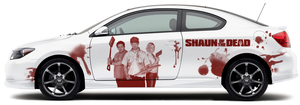 Shaun of the Dead Scion by JennHolton