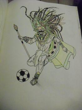 aztec soccer? by xsilasx