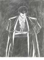 Alucard in his suit by bwett1