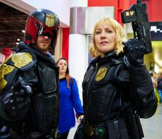 I Fought The Law and The Law 1 - MCM Expo D6X 0796 by mistersaxon