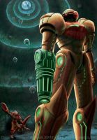 Metroid by Shalie