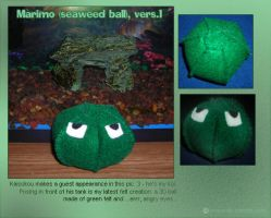 Marimo Plushie by airlobster