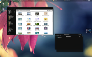 Fundamental Hybrid for XFCE by p0ngbr