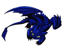 Toothless by MelissaDalton