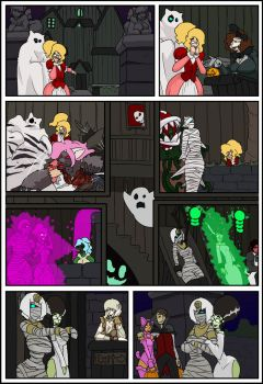 overlordbob webcomic Page192 Halloween special by imric1251