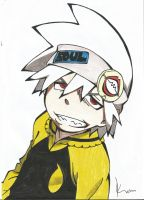 soul eater Evans by Piko-Ai-chan