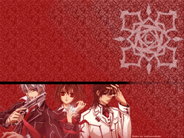 Vampire Knight wall paper by Amane-Chi