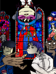 Gorillaz @ Church by davidram53