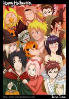 Happy Halloweeeeeen by icha-icha