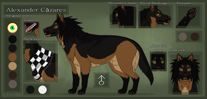 Alexander reference sheet MARCH by Insol