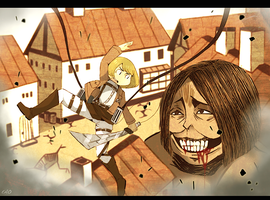 Attack on titan by OrangeLightning123