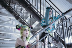 Jolyne and Annasui by icocos