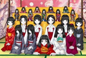 Fatal Frame Girls' Gathering by Anithin