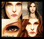 THE BEAUTY OF LARA CROFT by amirulhafiz