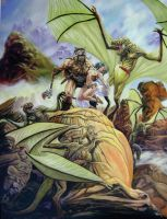 Savage land by dynapop