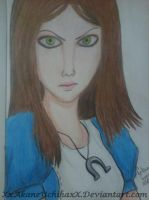 Drawing - Alice Madness Returns by XxAkaneUchihaxX