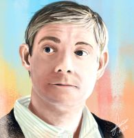 Martin Freeman by KanuLover