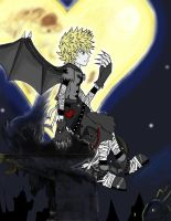 Halloween Town Roxas: colored by Sora-in-my-pants