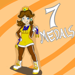 Princess Daisy, Olympic Champion! by caboose759