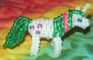 Beaded My Little Pony Gusty by Anabiyeni