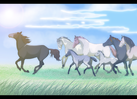 Children of the Plains by Whitelupine
