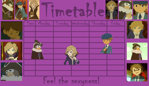 Timetable - Lords of Sexyness by kenabe