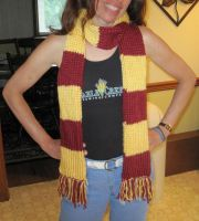 Gryffindor Scarf by coincollect408