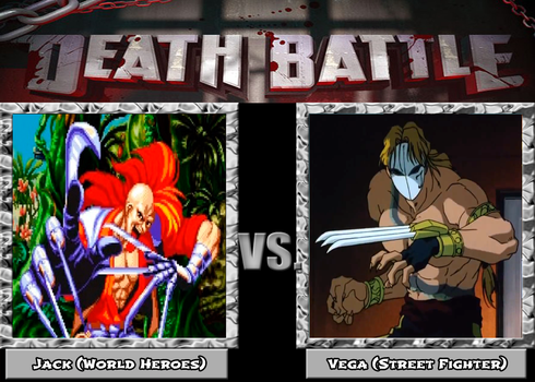 Death Battle - Jack vs Vega by MDTartist83