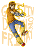 Gettin' Down On Friday by YamiRedPen