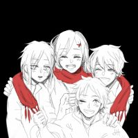 Ayano no Koufuku Riron ~ We are the Heroes by JaneyHee