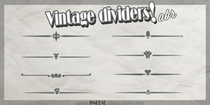 Vintage Dividers .abr by Innuend