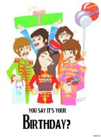 Beatles - Birthday by TheAbbeyRoadie