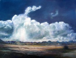 Storm Over New Mexico by Ravenhaven