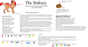 Raikuya- Ref and Info by BlackWolf1112-ADOPTS