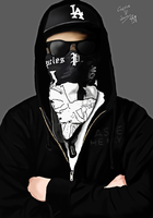 Charlie P. Scene - Hollywood Undead by Raspp