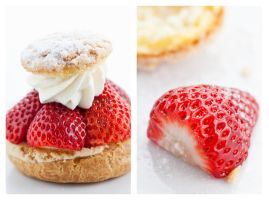 Strawberry Pastry by b-r-ee-z-e