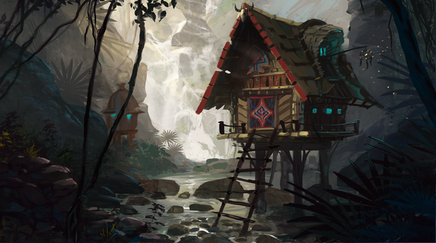 Jungle house concept by Anastasia-N
