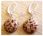Cookie Earrings by SweetDeco