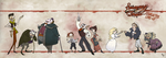 Sweeney Todd - Cast Line-Up by coveofmadness