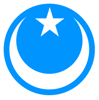 Roundel for the Uyghur Air Force by kyuzoaoi