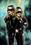 Canary Sisters by deanfenechanimations