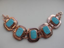 copper bracelet by irineja